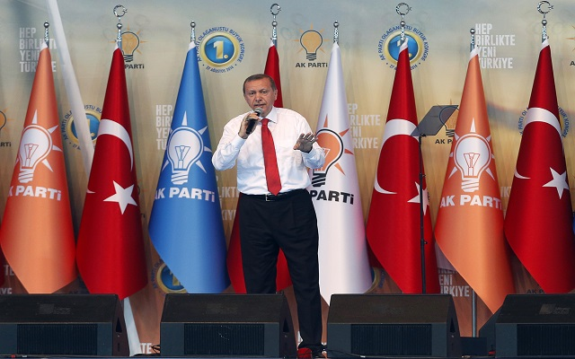 Το προσωρινό «αντίο» του Ερντογάν
