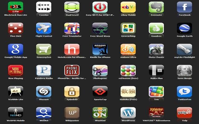 Η λίστα με τις Top25 εφαρμογές για κινητά