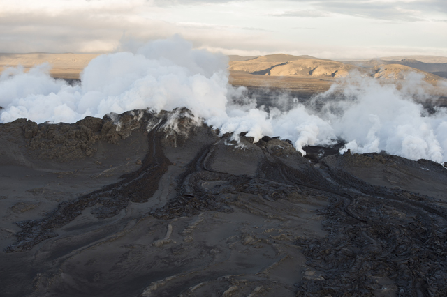 Κόκκινος συναγερμός μετά από έκρηξη ηφαιστείου στην Ισλανδία