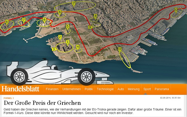 Σε αναζήτηση επενδυτή για να έρθει η Formula 1 στην Ελλάδα