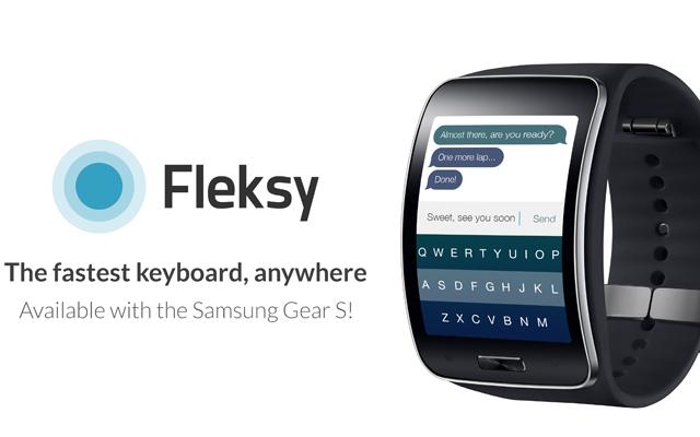 Η Samsung επιλέγει το «ελληνικό» Fleksy για το smartwatch Gear S