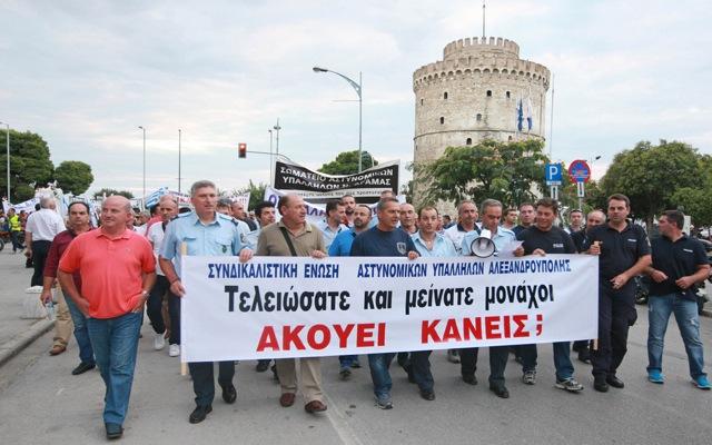 «Φρούριο» θυμίζει η Θεσσαλονίκη