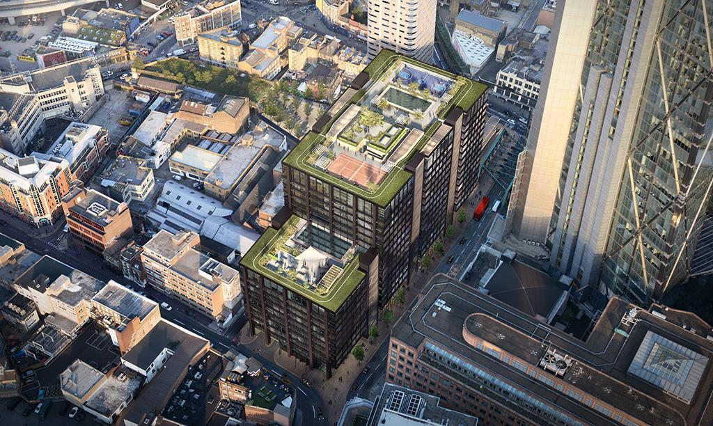 Τα νέα εντυπωσιακά γραφεία της Amazon στο Λονδίνο