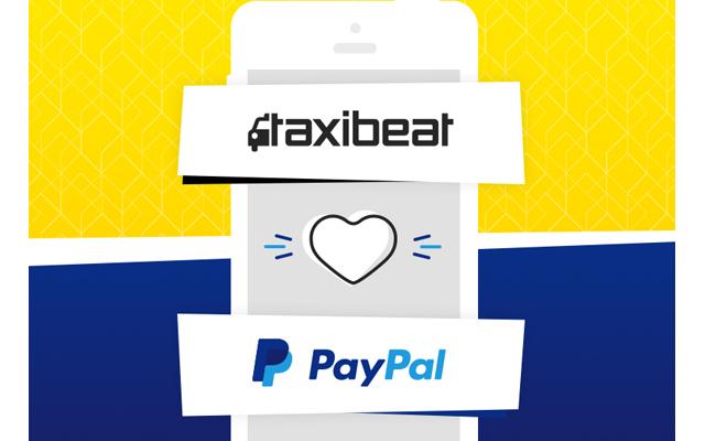 Taxibeat, τώρα και με PayPal πληρωμές