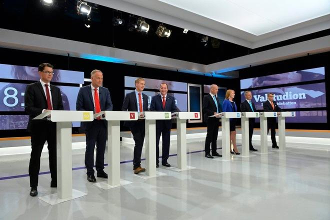Άνοιξαν οι εκλογικές κάλπες στη Σουηδία