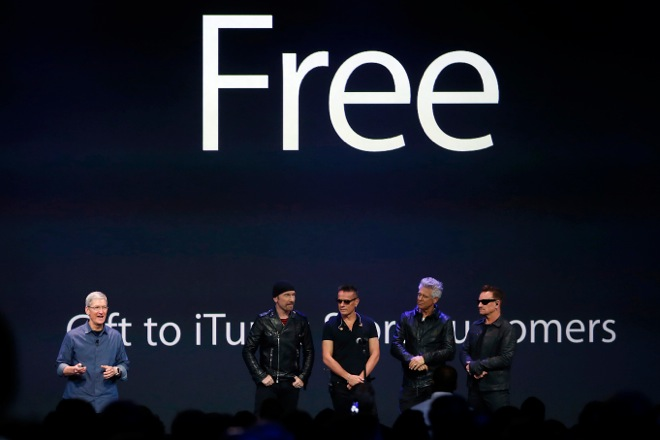 Apple και U2 δείχνουν το μέλλον