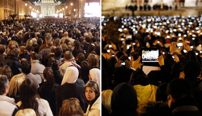 popes smartphones