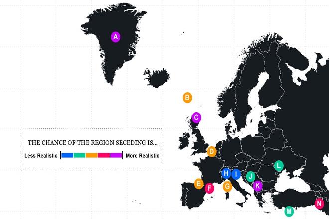 Μπορεί η ενωμένη Ευρώπη να αντέξει τον «πυρετό» της αυτονομίας;