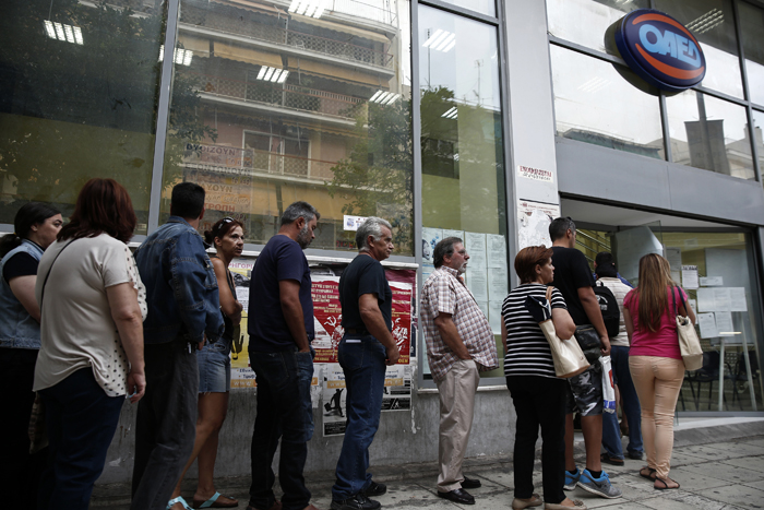 Μειώθηκε κατά 2,5 μονάδες το ποσοστό της ανεργίας τον Ιούλιο