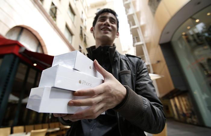 Η Apple πούλησε 10 εκατ. iPhone 6 σε ένα Σαββατοκύριακο!