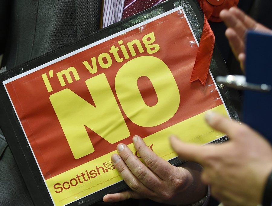 Σκωτία: «Όχι» στο διαζύγιο με το Ηνωμένο Βασίλειο