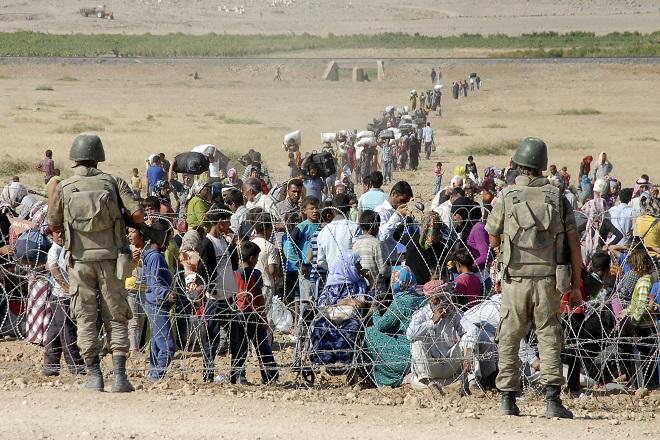 Καταφύγιο από τους τζιχαντιστές αναζητούν στην Τουρκία δεκάδες χιλιάδες Κούρδοι