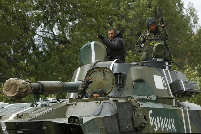 Βαθμιαία αποκλιμάκωση στην ανατολική Ουκρανία