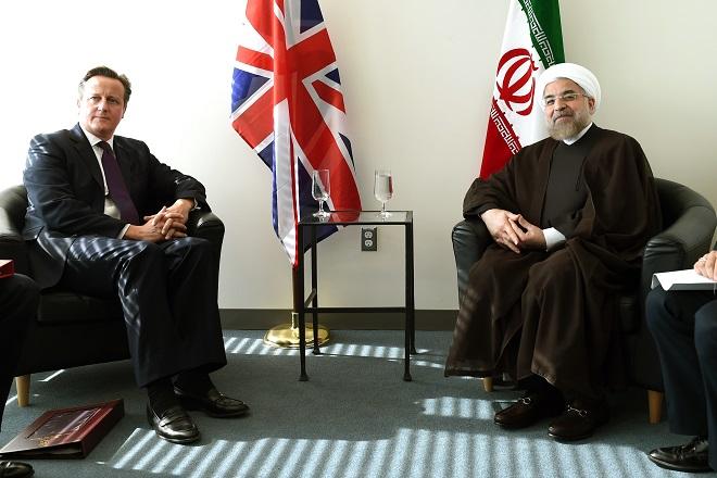 Ιστορική συνάντηση των ηγετών της Βρετανίας και του Ιράν