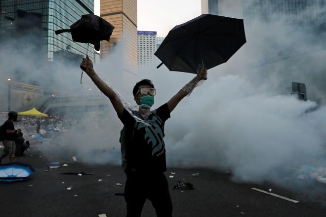 H «επανάσταση των ομπρελών»