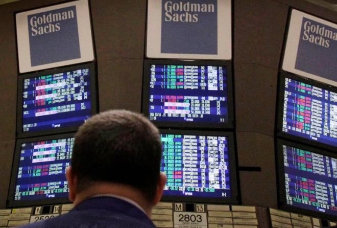 Μεγάλη πτώση 60% στα έσοδα της Goldman Sachs