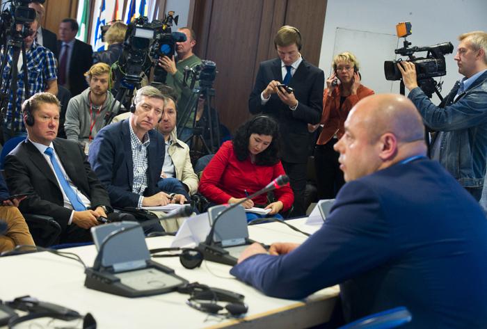 Αναβλήθηκε η συνάντηση ΕΕ- Ουκρανίας- Ρωσίας για το φυσικό αέριο