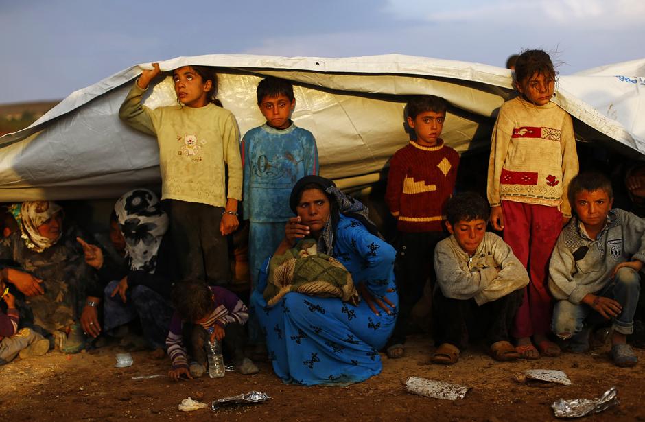 Έκκληση του ΟΗΕ για βοήθεια προς τις χώρες που καταφεύγουν Σύριοι πρόσφυγες