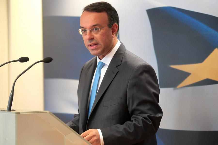 Σταϊκούρας στη Handelsblatt: Θα δημιουργήσουμε τις συνθήκες για χαμηλότερα πρωτογενή πλεονάσματα