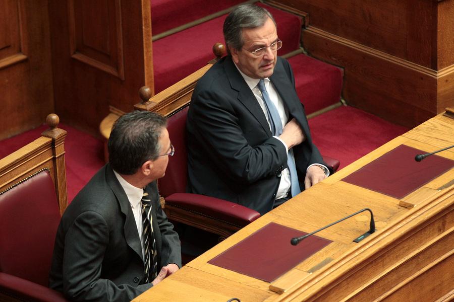 Κατατέθηκε η πρόταση παροχής ψήφου εμπιστοσύνης στην κυβέρνηση