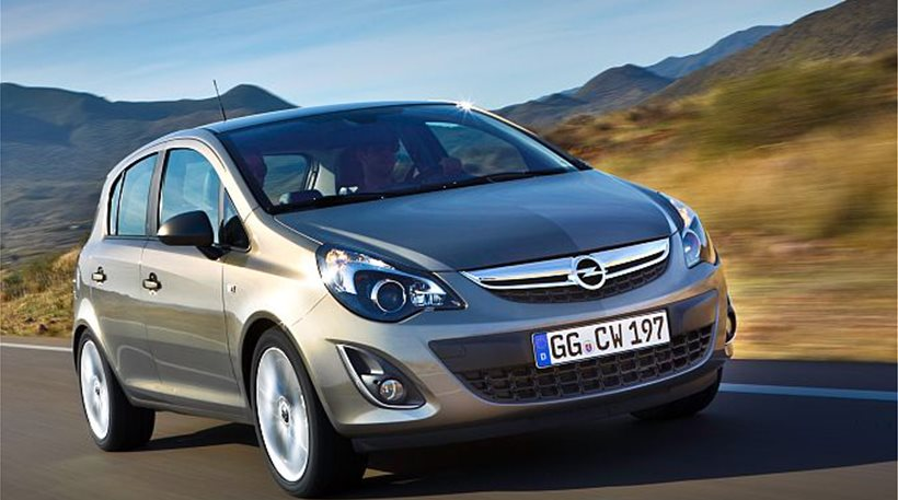 Επέκταση ανάκλησης αυτοκινήτων Opel τύπου Corsa D και Adam
