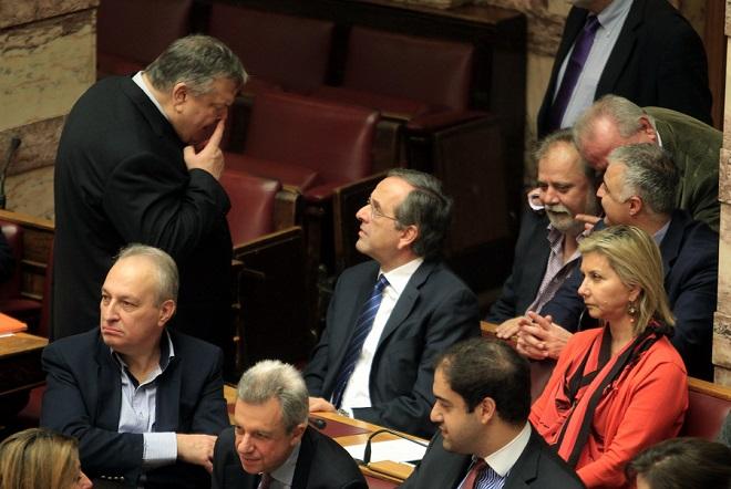 Πόλωση με τον ΣΥΡΙΖΑ στη Βουλή και προετοιμασία για ΔΝΤ