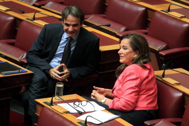 Τροπολογία μείωσης των αντικειμενικών αξιών θα καταθέσει η Ντόρα Μπακογιάννη