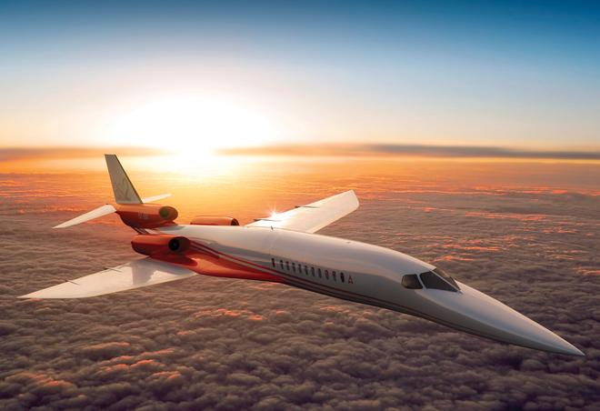 Το υπερηχητικό business jet που μηδενίζει τις αποστάσεις