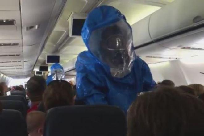 Αναστάτωση σε πτήση από επιβάτη που φώναζε ότι έχει Έμπολα!