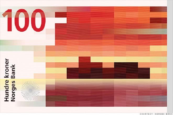 Το νέο χαρτονόμισμα της Νορβηγίας είναι βγαλμένο από μουσείο