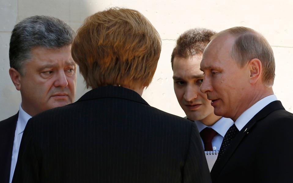 Συνάντηση Πούτιν – Ποροσένκο την επόμενη εβδομάδα