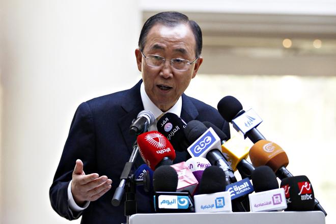 Επίσκεψη του γγ του ΟΗΕ στη Λωρίδα της Γάζας