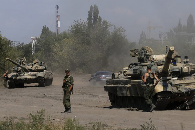 Ο Πούτιν απομακρύνει τα ρωσικά στρατεύματα από τα ουκρανικά σύνορα