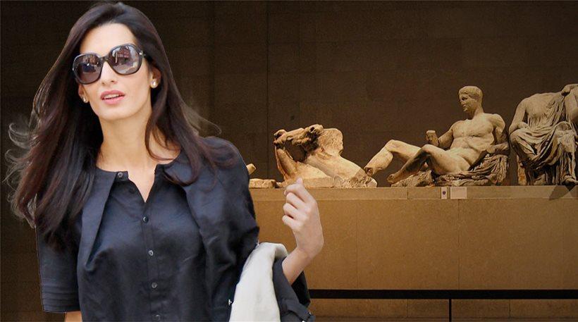 Στην Αθήνα σήμερα η Άμαλ Αλαμουντίν για τα Γλυπτά