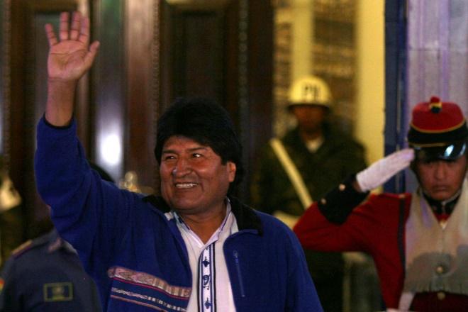 Ο Έβο Μοράλες ξανά πρόεδρος της Βολιβίας