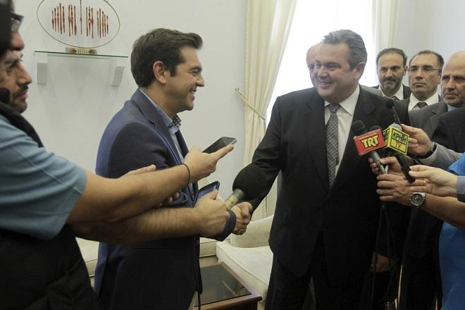 Συμφωνία ΣΥΡΙΖΑ-ΑΝ.ΕΛ. για «κόκκινα δάνεια» και Πρόεδρο της Δημοκρατίας