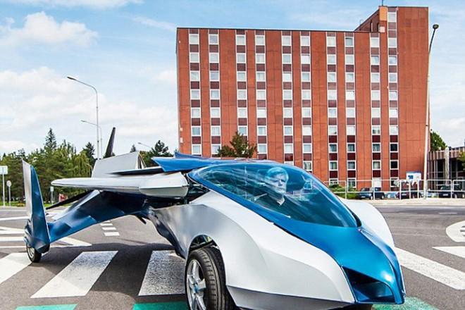 Το νέο «ιπτάμενο» όχημα της AeroMobil