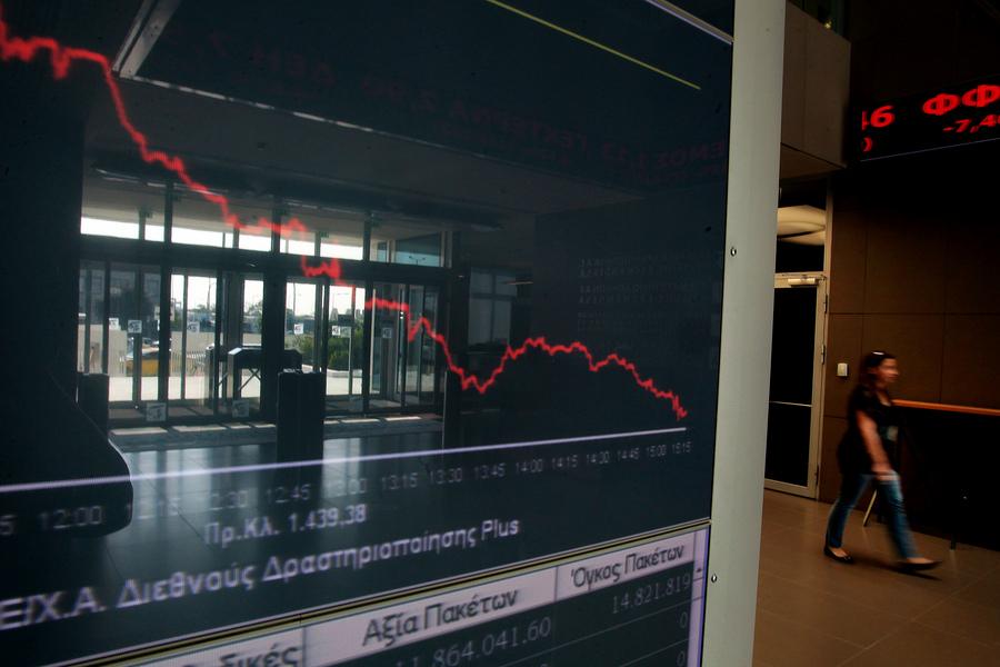 «Κατρακύλα» 9,24% για το Χρηματιστήριο