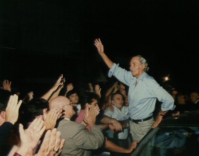 Πέθανε ο Γιάννης Χαραλαμπόπουλος σε ηλικία 95 χρόνων