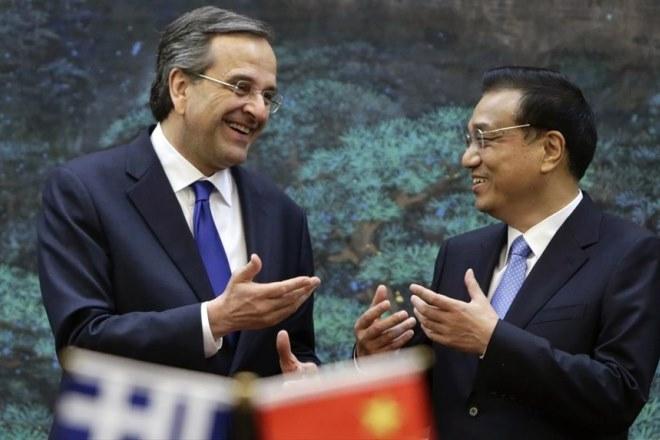 Οι ελληνοκινεζικές σχέσεις στη συνάντηση Σαμαρά – Λι Κετσιάνγκ