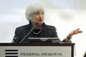 U.S. Federal Reserve Chair Yellen speaks in Boston