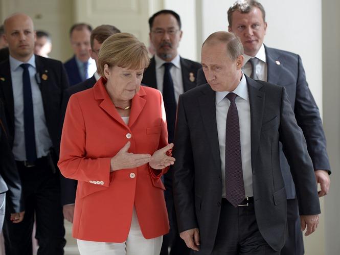 Μέρκελ και Πούτιν έχουν σοβαρές διαφωνίες για την Ουκρανία