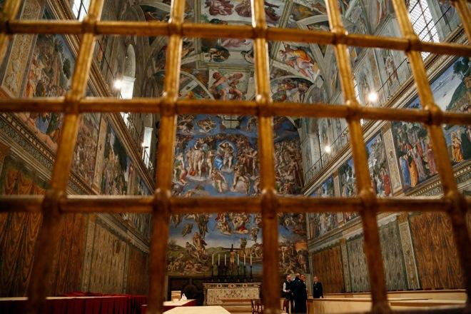 Η Porsche «νοικιάζει» την Capella Sistina στο Βατικανό