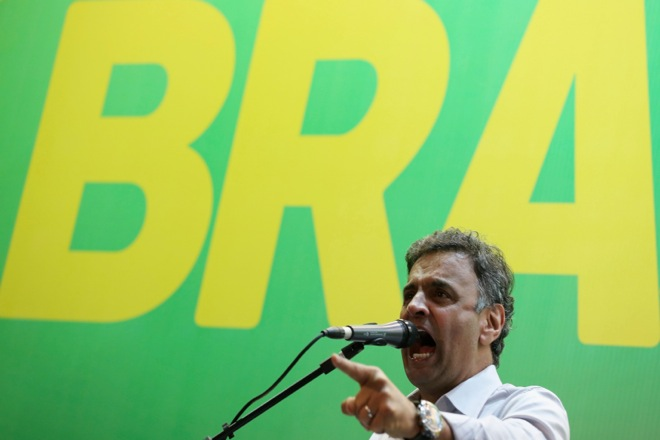 Μπροστά η αντιπολίτευση στη Βραζιλία μία εβδομάδα πριν τις εκλογές