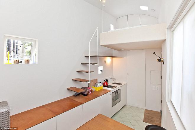 350.000 ευρώ για ένα σπίτι 17,4 τετραγωνικών!