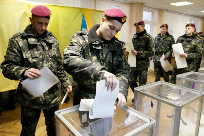 Ημέρα βουλευτικών εκλογών στην Ουκρανία