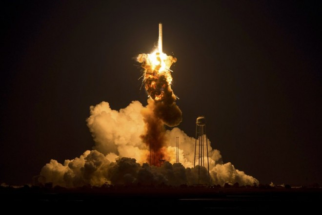 NASA Cygnus cargo rocket explodes on launch for ISS