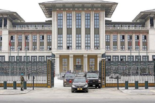 Το Λευκό Παλάτι του Ερντογάν
