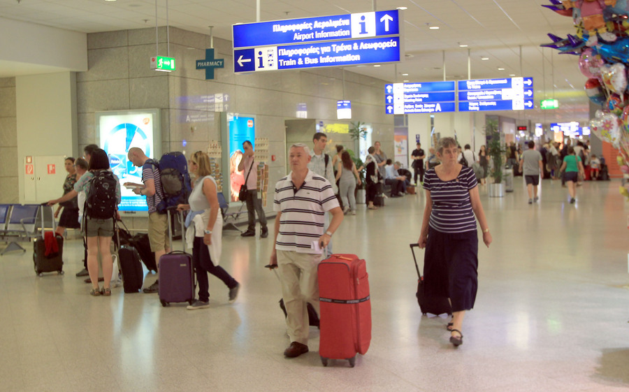 Αύξηση 11,3% σημείωσε τον Ιούλιο η επιβατική κίνηση στον Διεθνη Αερολιμένα Αθηνών