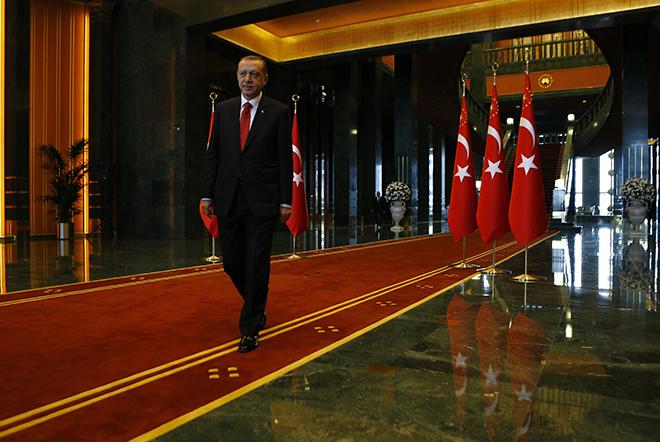 Πολυτελές παλάτι 615 εκατ. δολαρίων για τον Ερντογάν